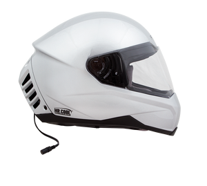 Open image in slideshow, Air Conditioned Helmet in Silver