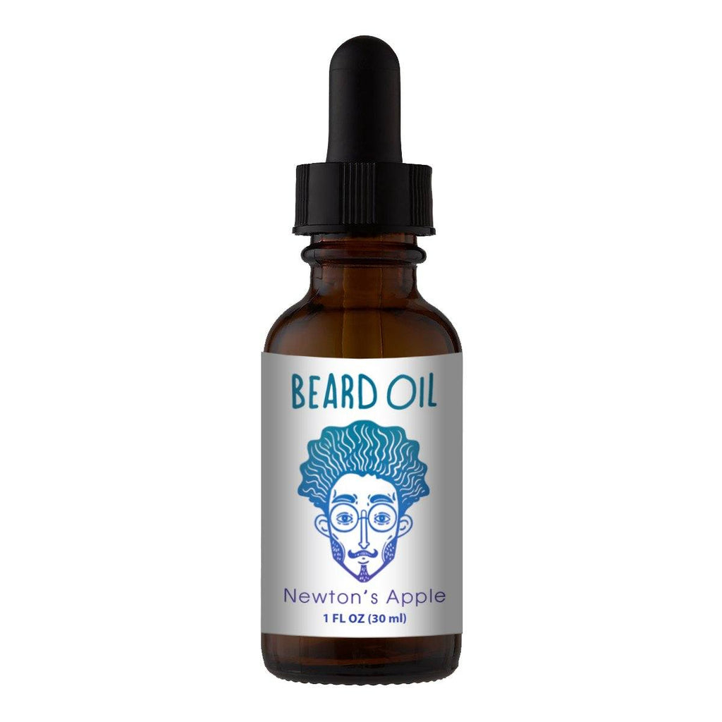 Beard Oil & Mustache Oil - 🍎Newton's Apple - Cologne Growth Oil Beard Oil Bearded AF 1oz Beard Oil Bottle