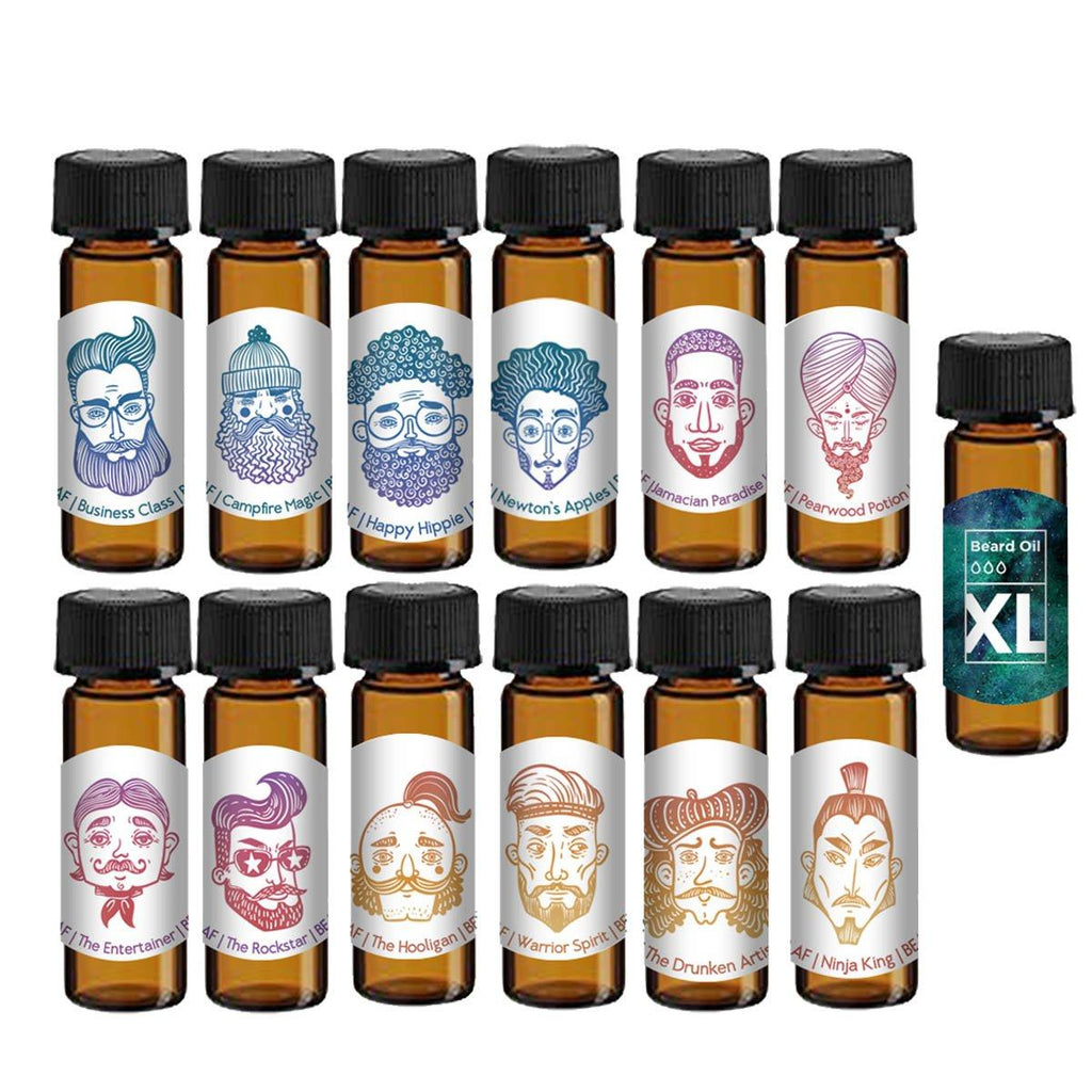 Beard Oil Sample Package Deal Bearded AF