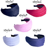 Wide Headband, Knotted Wide Headbands for Women