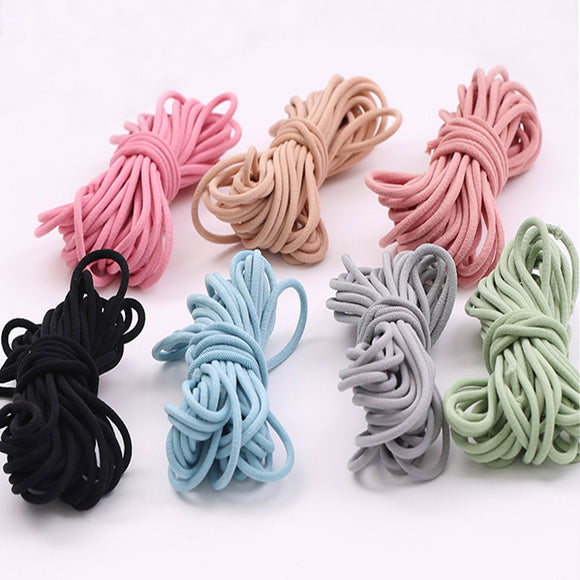 Rope Cord, Polyester Elastic Cord, Hair Stretch, Elastic Cord