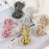 Polyester Elastic Cord, Hair Stretch Rope Cord, Elastic Cord
