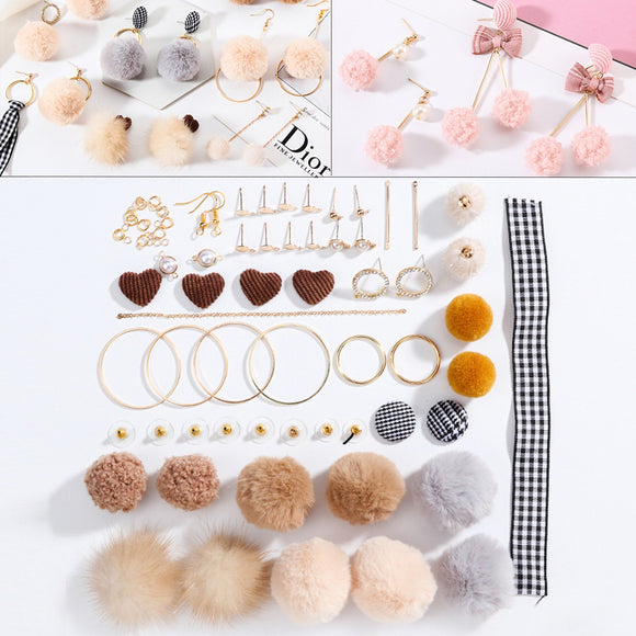 Earrings Making Kit, Jewellery Components, DIY jewelry making