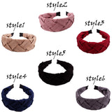 Wide Knotted  Headbands for Women, Wide Headband