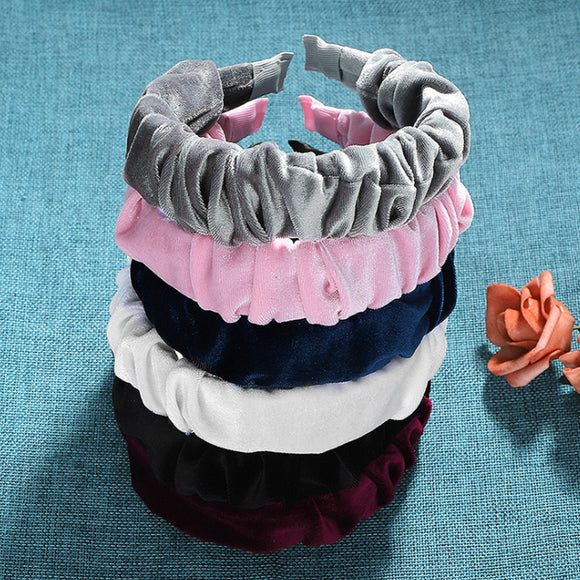 Knotted Wide Headbands for Women, Wide Headband