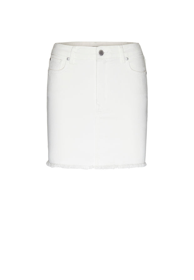 Liaara Denim Mini Skirt