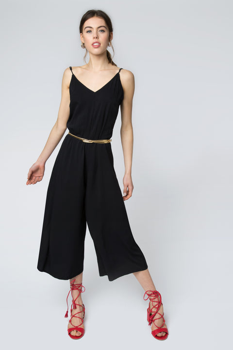 Amalfi Jumpsuit in Black