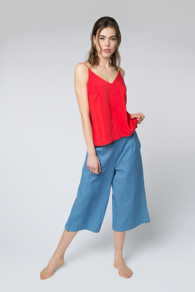 Jasri Top in Red
