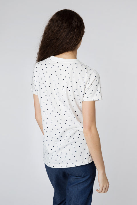 Mimi Flamingo Polka Dot T-Shirt