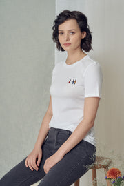 Lidaa Embroidered Girls Tee
