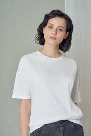 Relaxed White T-Shirt