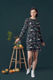 Brianna Magic Forest Frill Tunic Dress
