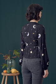 Giselle Astrological Nights Wrap Top