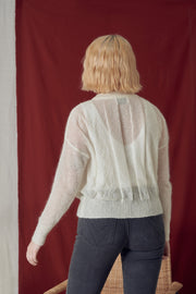 Rosser White Knit