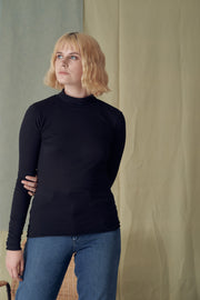 Malenaa Black Turtleneck