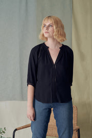 Celia Top in Black