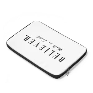 BELIEVER. Laptop Sleeve