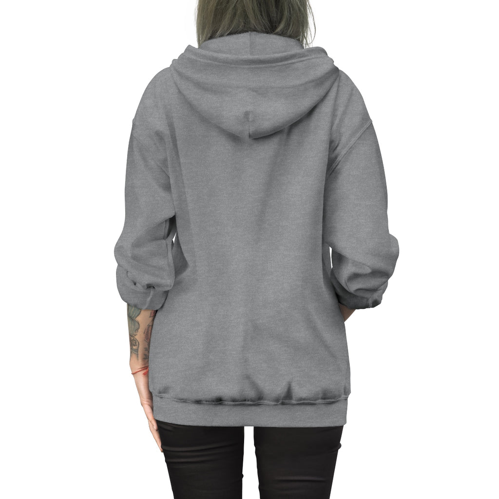 One Tent Health Embroidered Zip Up Hoodie