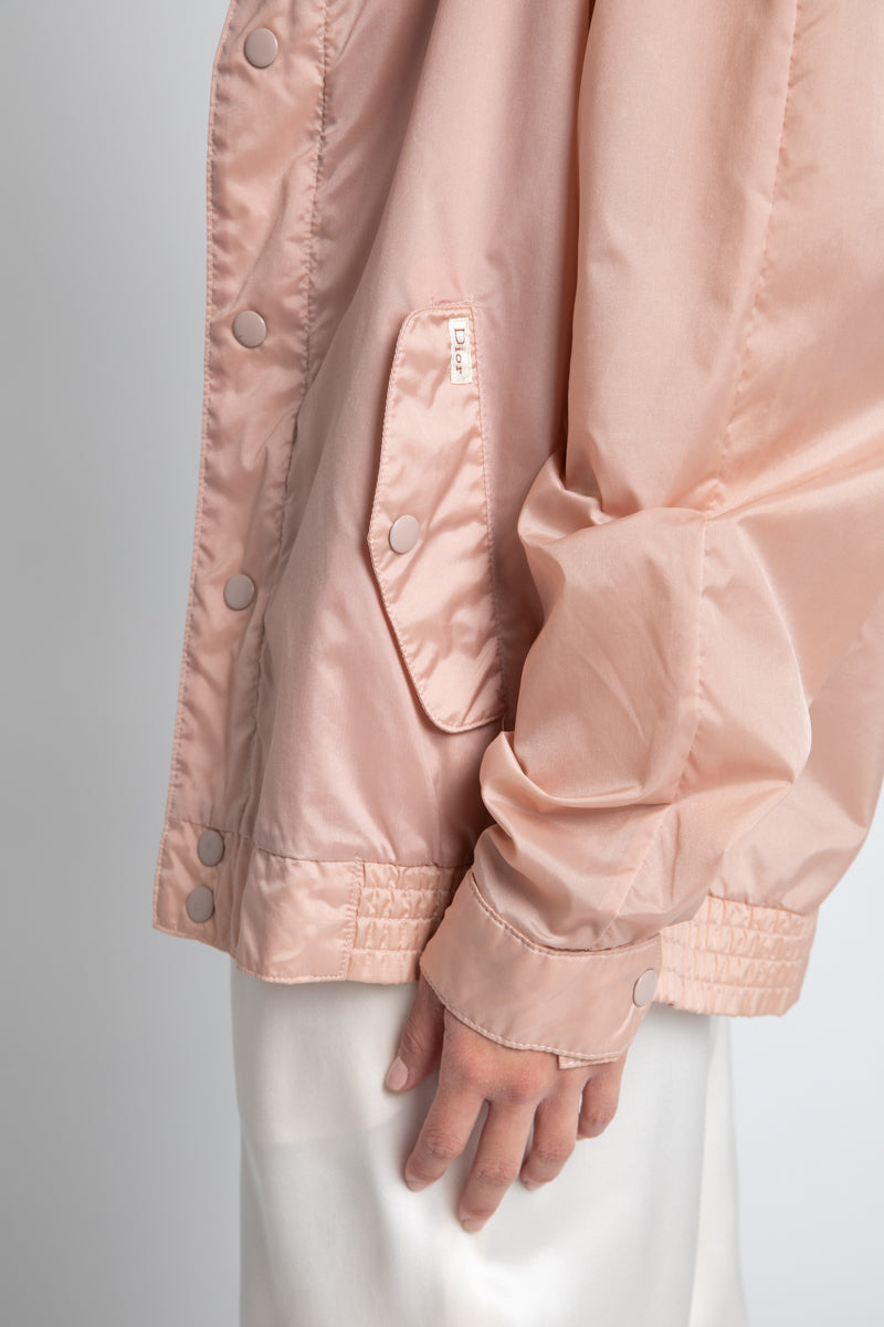 Vintage Christian Dior Blush Windbreaker