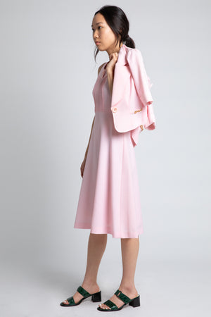 Vintage Japanese Pink Dress Set