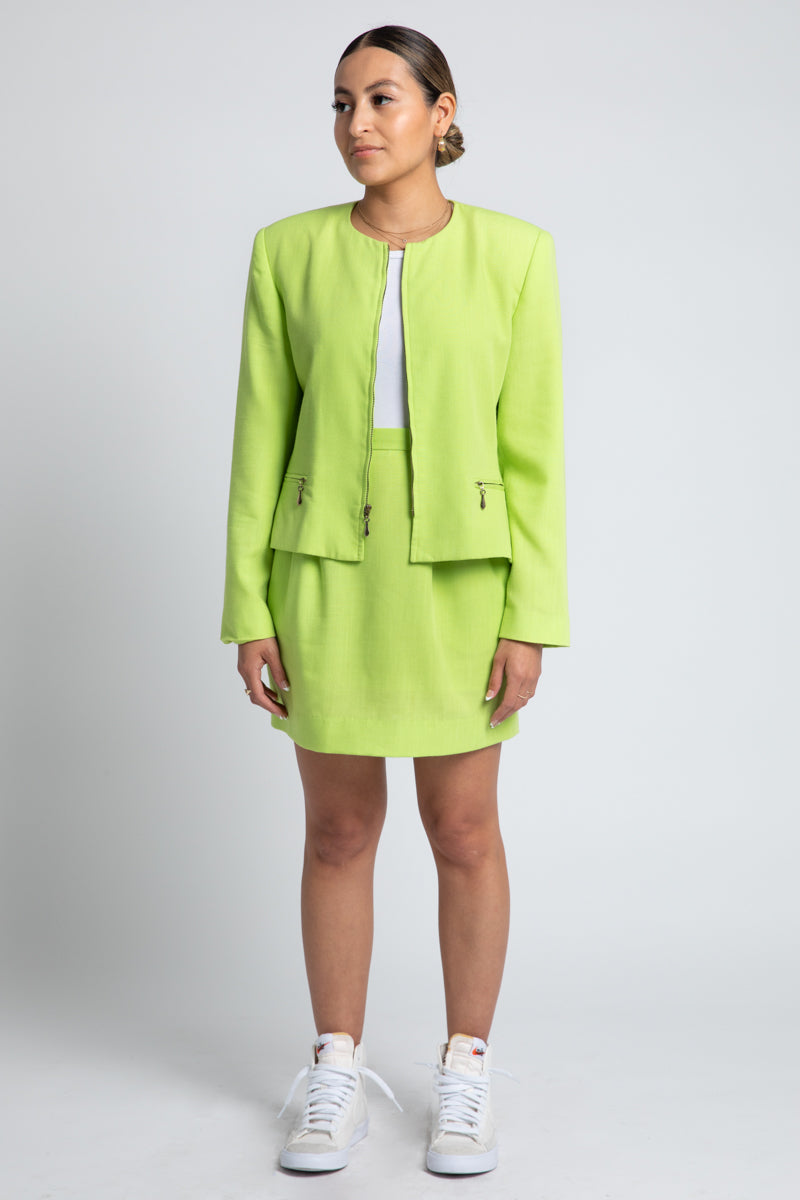 Vintage Lime Suit Set