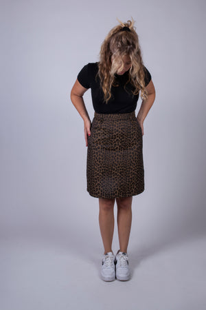 Vintage Fendi Animal Skirt