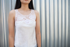 Vintage Christian Dior Lace Cami Top