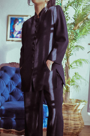Vintage Christian Dior Black Suit Set
