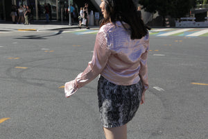 Rose Satin Fever Shirt