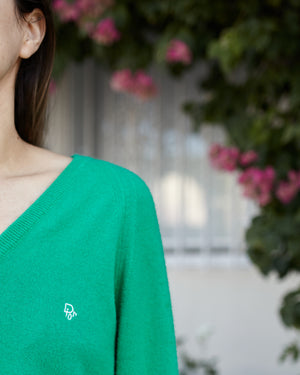 Vintage Christian Dior Green Sweater