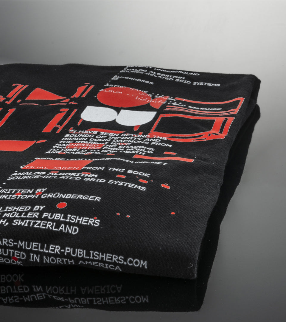 DU™-GRNBRGR 03 Promotional T-Shirt Joe Sousa – Infinite Cold Distance