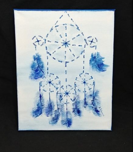 Blue Dreamcatcher - 10 x 14