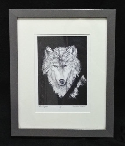 Children of the Earth Artwork - 7x5 - Wolf