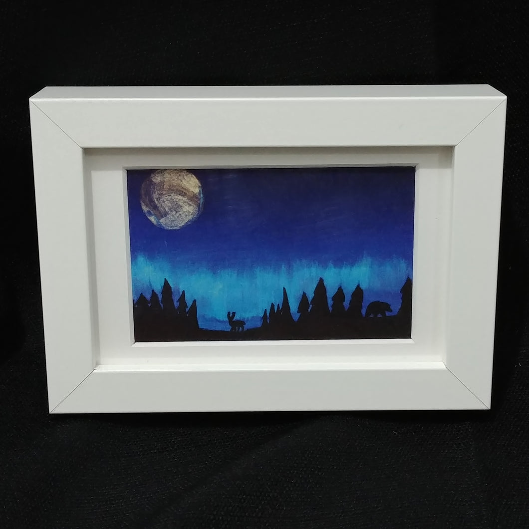 Children of the Earth Artwork - 4x6 - Nightscape