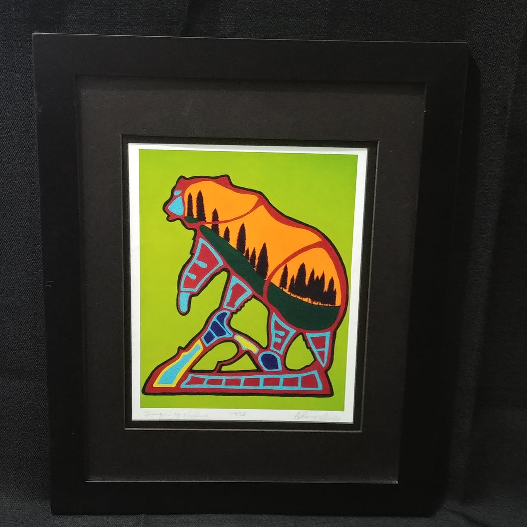Children of the Earth Artwork - 8x10 - Yellow Bear