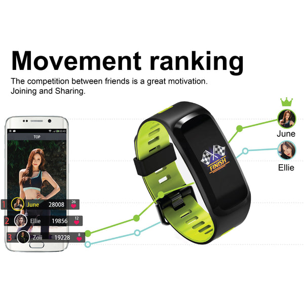 NT02 Bluetooth Fitness Tracker