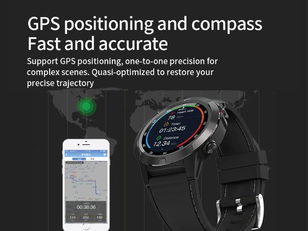 NT06 Health & Fitness Bluetooth Call GPS Smartwatch