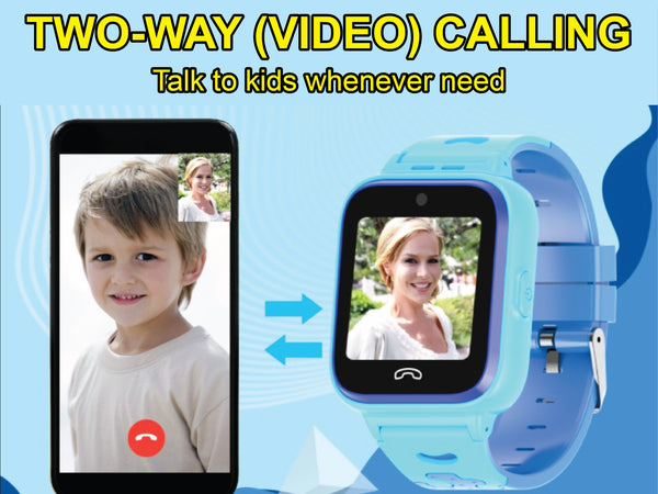 NT08  4G GPS Video Call Children Smartwatch