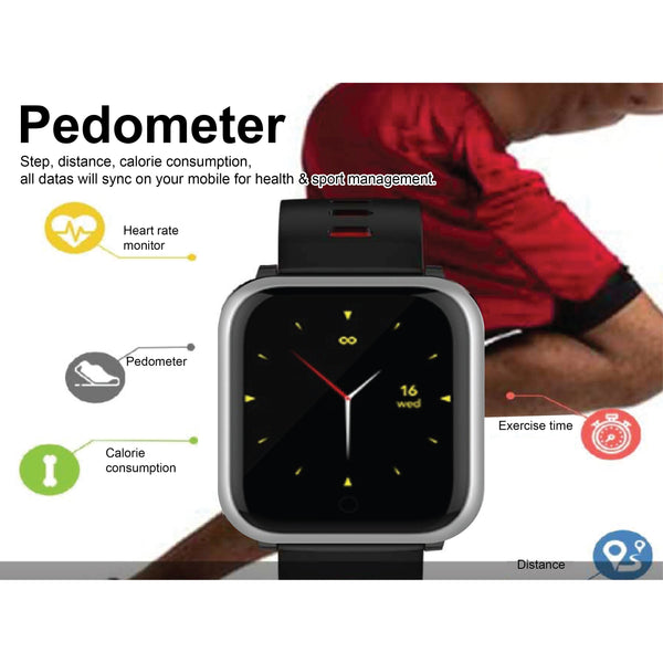 NT03 Health & Fitness GPS Movement Trajectory Smartwatch