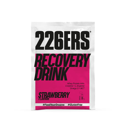 Recovery drink 50g strawberry monodosis