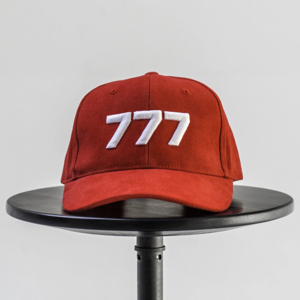 777 Logo Cap Red