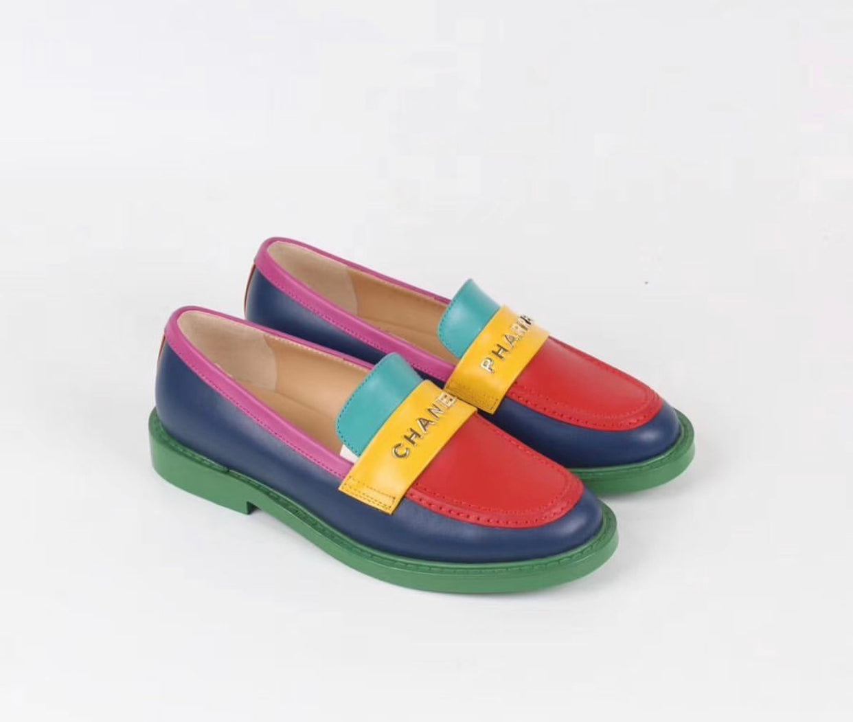 chanel x pharrell loafers