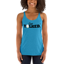 "Load image into Gallery viewer, ""Get Yolked®"" Women's Racerback Tank"