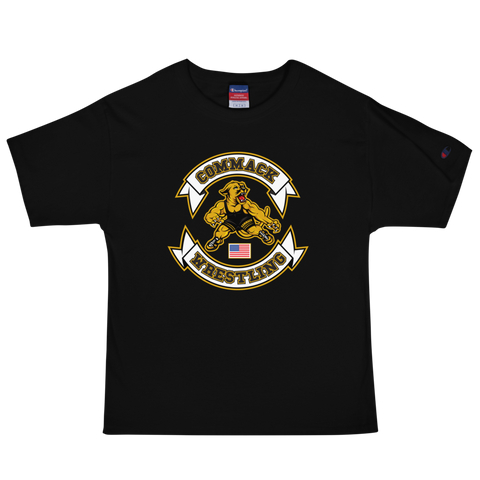 Commack Wrestling Men's Champion T-Shirt Style #1