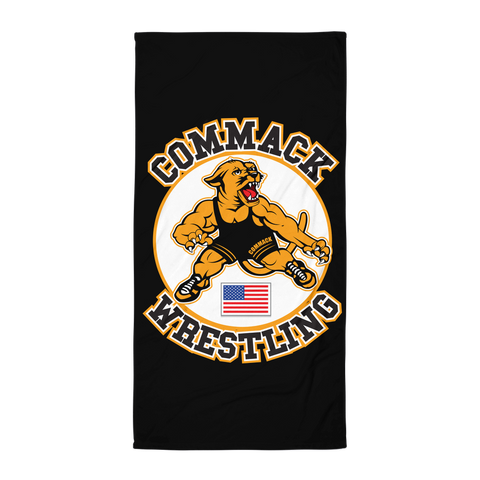 Commack Wrestling Towel