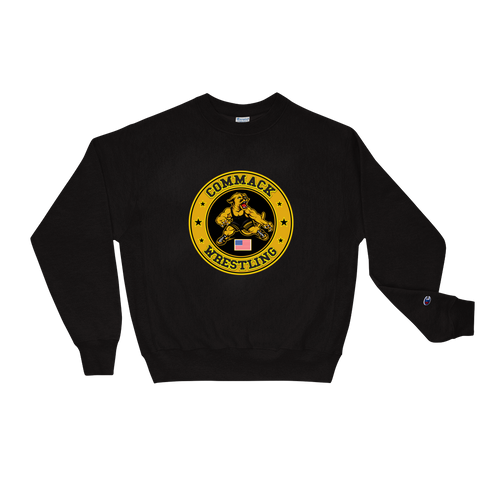 Commack Wrestling X Champion, Sweatshirt Style #2