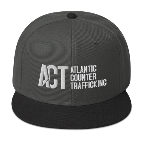ACT Snapback Hat White