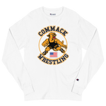 Commack Wrestling X Champion, Long Sleeve Shirt Style #3