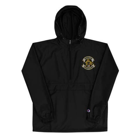 Commack Wrestling Embroidered Champion Packable Jacket