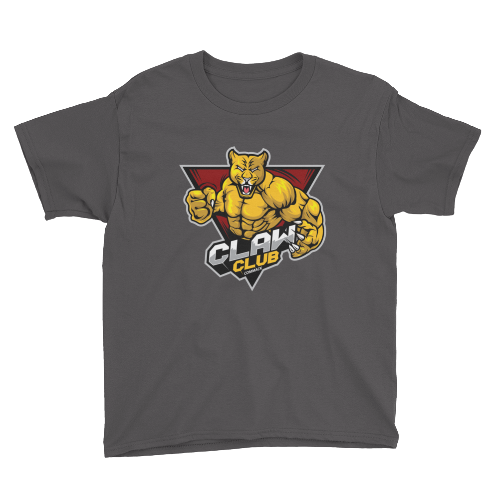 Claw Club Youth Short Sleeve T-Shirt